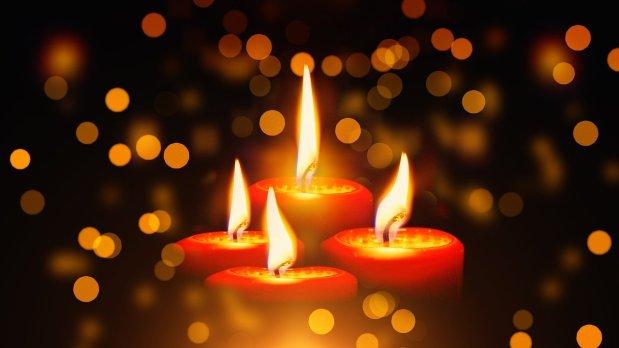 Wie die vier Kerzen zu ihrem Namenkamen